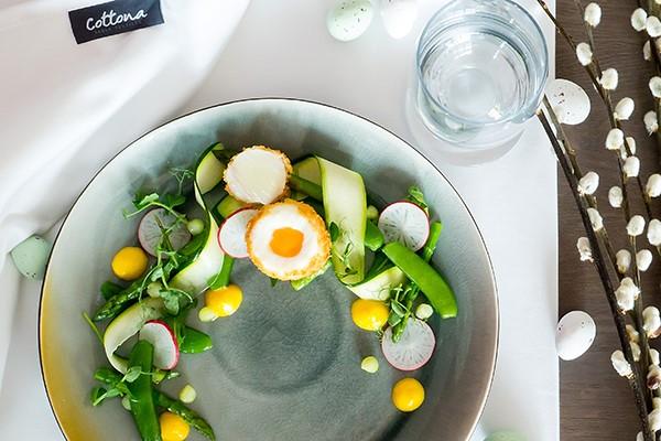 Wunderschöner Frühlingssalat