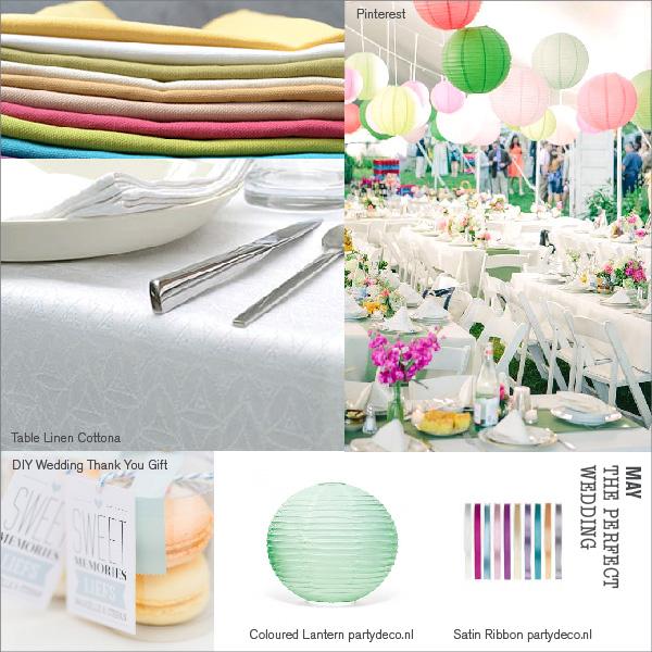 Tischdekoration – Die perfekte Hochzeit