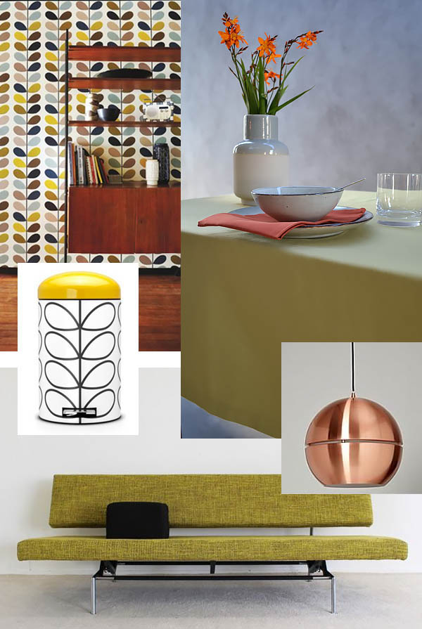 vintage einrichtung die 70er jahre im modernen outfit. Black Bedroom Furniture Sets. Home Design Ideas