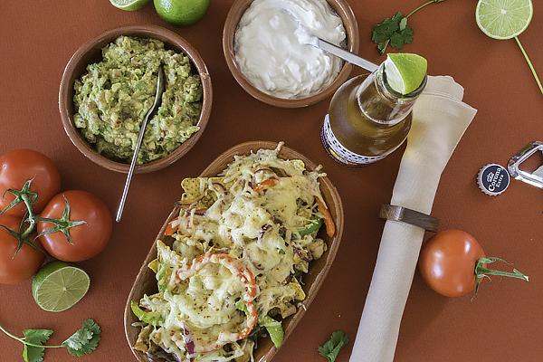 Rezept Mexikanisch: Nachos mit Guacamole