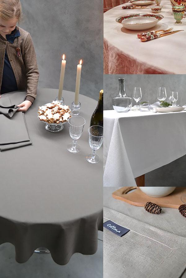 Maßgefertigte Tischdecken