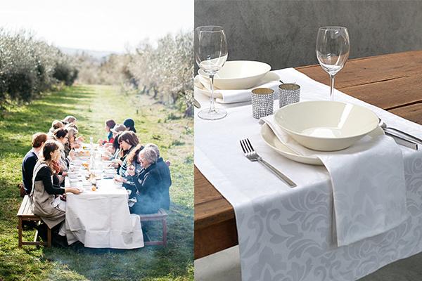 Sommerliche Tischdecke nach Maß