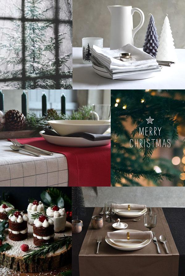 Mit einer Weihnachtstischdecke von Cottona wird Weihnachten festlich