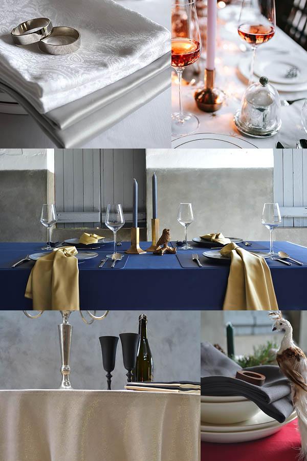 große Tischdecke